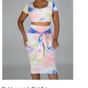 Cotton Candy Two Piece Set